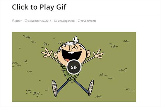 Clique para jogar GIF animado