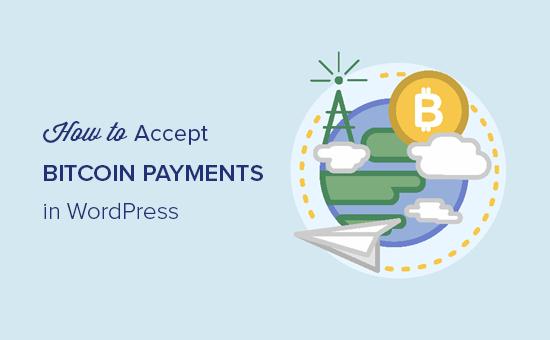 Aceitando pagamentos Bitcoin no WordPress