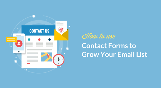Como usar formulários de contato para aumentar sua lista de e-mail